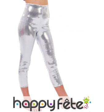 Leggings argenté