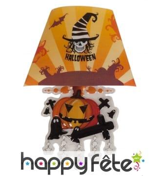 Lampe abat-jour halloween de 22cm