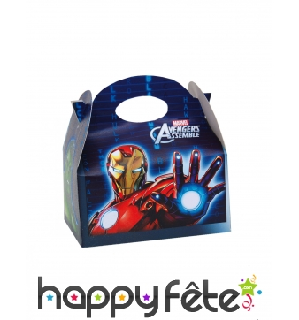 Lunch box Avengers en carton