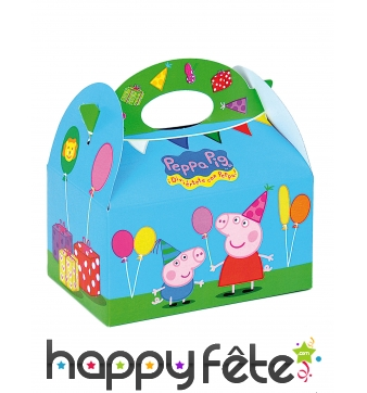 Lunch box Peppa Pig en carton