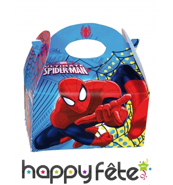 Lunch box ultimate Spiderman en carton