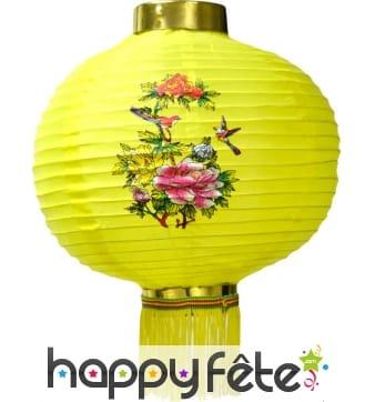 Lanterne chinoise décorée