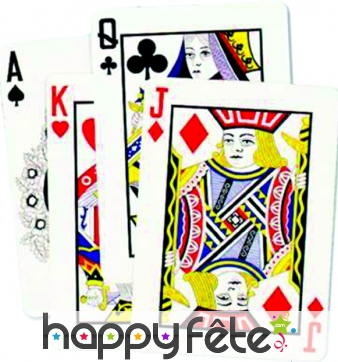 Lot de 4 Cartes de jeux