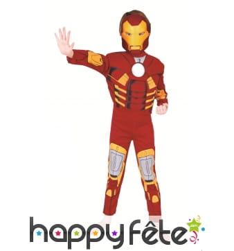 Luxueux déguisement de Iron Man pour enfant