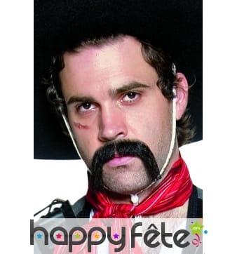 Longues moustaches de mexicain