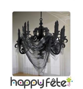 Lustre noir de Halloween en carton, 41 x 58 cm
