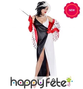 Longue robe de Cruella pour femme