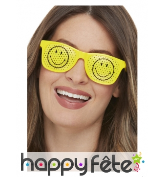 Lunettes Smiley