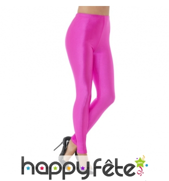 Legging spandex rose fluo