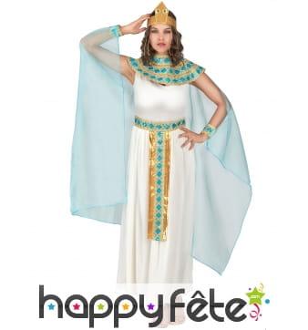 Longue tenue de Cléopâtre pour adulte