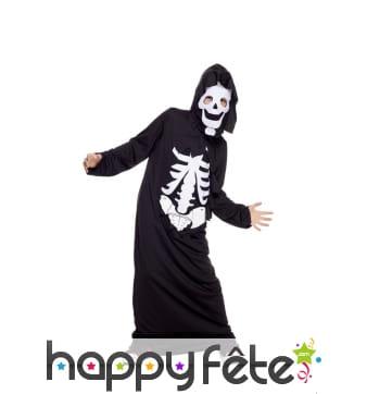 Longue tunique squelette pour enfant