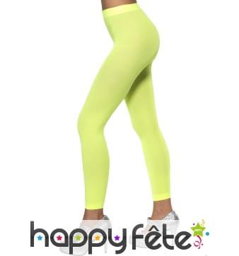 Legging vert fluo