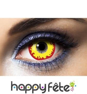 Lentilles yeux de feu de 17mm