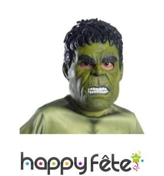 Masque 3/4 de Hulk pour adulte