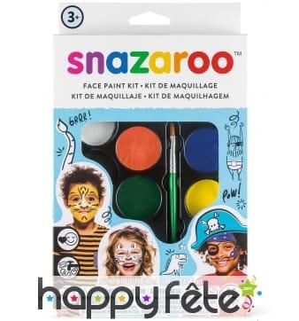 Maquillage 8 couleurs garçon, Snazaroo
