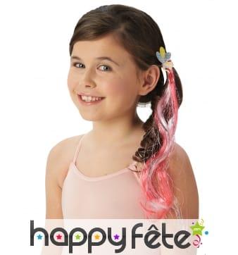 Mèches à cheveux Pinkie Pie, mon petit poney