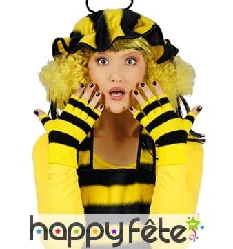 Mitaines abeilles courtes