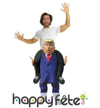 Morphsuit à dos du président Trump