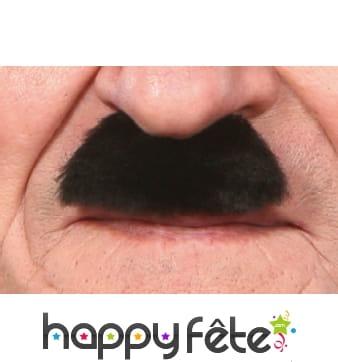 Moustaches brosse noire