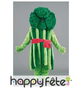 Mascotte brocolis vert