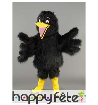 Mascotte corbeau