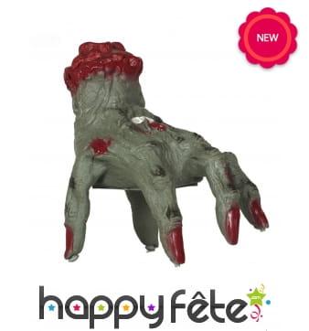 Main coupée de zombie qui bouge, 20cm