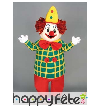 Mascotte clown de cirque