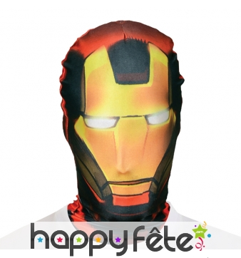 Masque cagoule de Iron Man Morphsuit