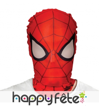 Masque cagoule de Spiderman, Morphsuit