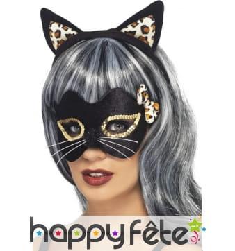 Masque chat de minuit
