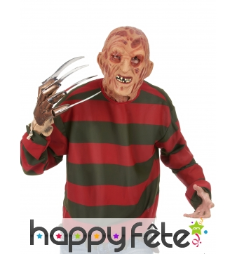 Masque complet de Freddy Krueger