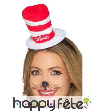 Mini chapeau du chat chapeauté