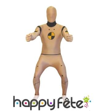 Morphsuit, combinaison mannequin crash test