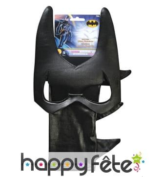 Masque de Batgirl avec gants