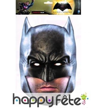 Masque de Batman en carton, l'Aube de la justice