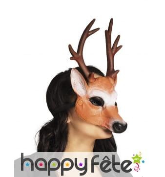 Masque de biche pour adulte, facial