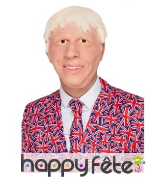 Masque de Boris Johnson intégral
