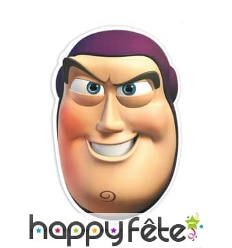 Masque de Buzz l'éclair en carton