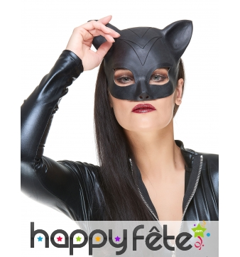 Masque de Catwoman en latex pour adulte