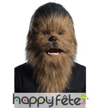 Masque de Chewbacca articulé