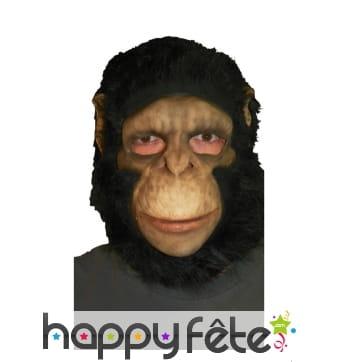 Masque de chimpanzé intégral en latex