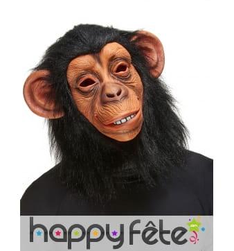 Masque de chimpanzé intégral pour adulte