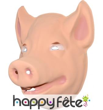 Masque de cochon pour enfant