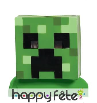 Masque de Creeper pour enfant, Minecraft