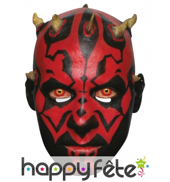 Masque de Darth Maul en carton plat