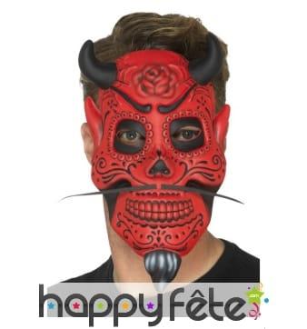 Masque de diable du jour des morts