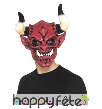 Masque de diable en mousse de latex