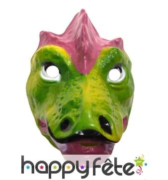 Masque de dinosaure facial pour enfant