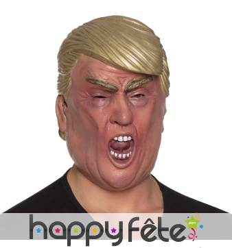 Masque de Donal Trump en latex