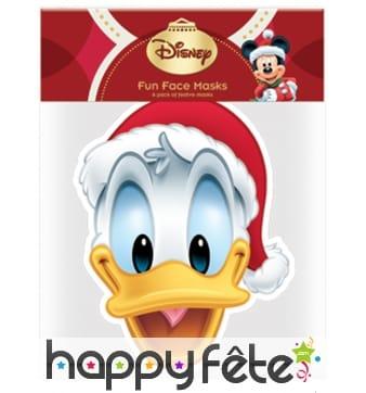 Masque de Donald père Noël